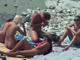 Beach Nudist Outdoor Voyeur