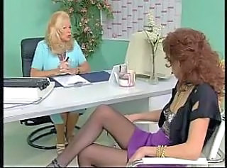 French Lesbian MILF Stockings Vintage