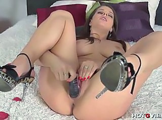 Babe Masturbating Toy