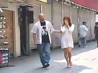 Asian MILF Outdoor Public