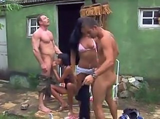 Blowjob Brazilian Groupsex Interracial Latina Outdoor