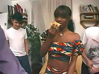 Ebony Gangbang Interracial Teen
