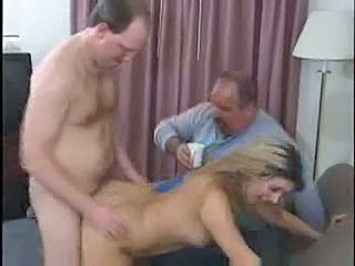 Cuckold Doggystyle MILF Threesome Wife