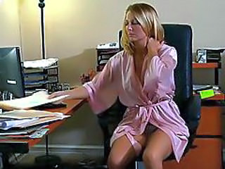 MILF Office Stockings