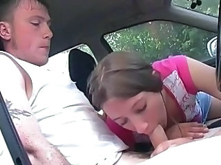 Amateur Blowjob Car Teen