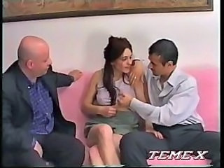 European Italian MILF Threesome