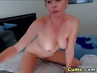 Blonde Busty Milf Has Multiple Orgasms Hd