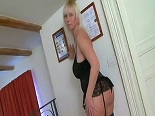 Bisexual Older Stockings Strapon