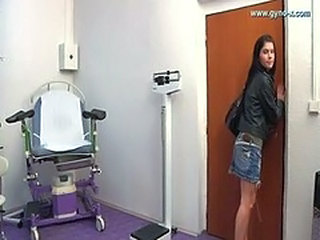 Gyno exam with electro-therapy