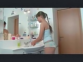 Bathroom Teen