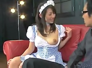 Asian Maid MILF Uniform