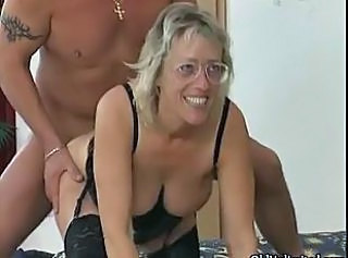 Doggystyle Glasses Granny Stockings