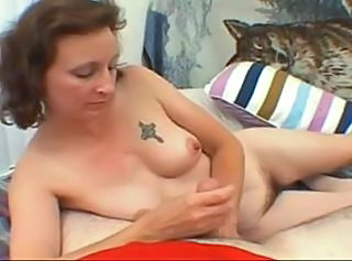 Handjob Mature Tattoo