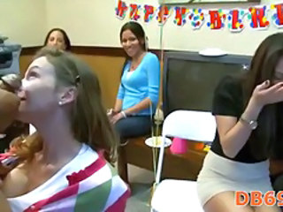 Blowjob CFNM MILF Party