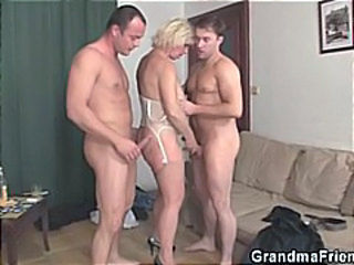 Hardcore Mature Threesome