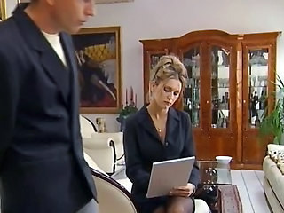 Amazing MILF Secretary