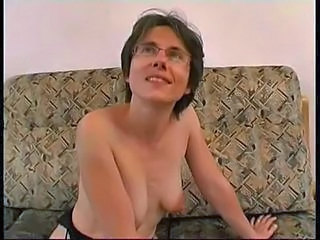 Amateur European French Glasses MILF SaggyTits