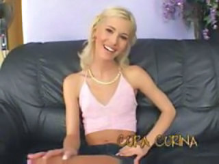 Amazing Blonde Cute Skinny Small Tits Teen