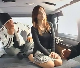 Asian Car Japanese MILF Wife