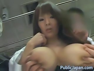 Amazing Asian Big Tits Japanese MILF Nipples Pornstar