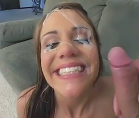 Cumshot Facial Cute Teen