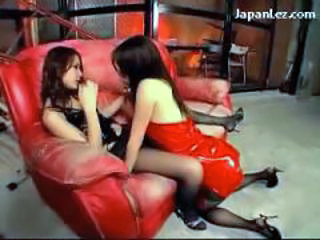 Asian Japanese Latex Lesbian
