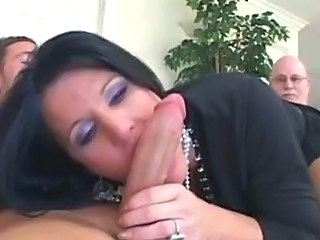 Big cock Blowjob Cuckold MILF Wife