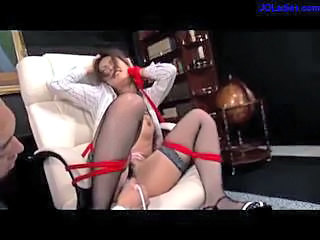 Asian Bondage Fetish Secretary