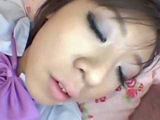 Asian Sleeping Teen