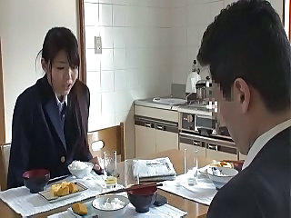 Asian Daughter Japanese Kitchen Student Teen Uniform