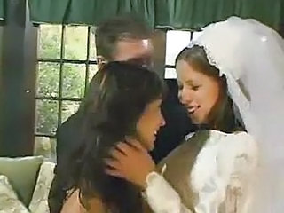 Bride Cute Threesome