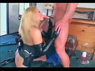 Blowjob Latex Pornstar
