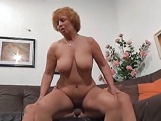 European German Mature Riding