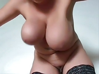 Big Tits Chubby Natural Stripper