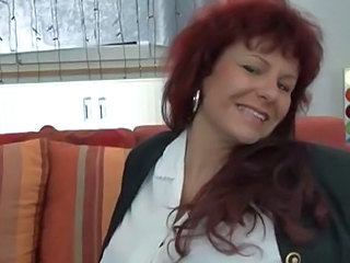 European German Mature Redhead