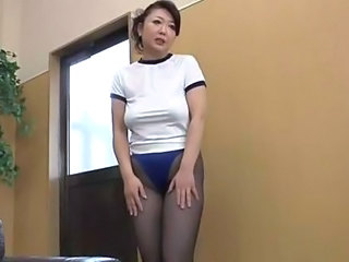 Asian Japanese MILF Panty Pantyhose