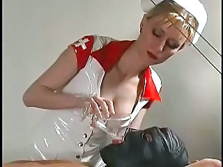 Fetish Latex Nurse Uniform
