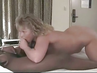 Amateur Blowjob Interracial MILF Wife