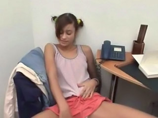 Cute Latina Office Teen