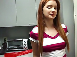Kitchen Long hair Teen