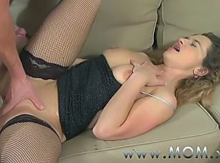 Hardcore MILF Mom Stockings