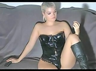 Amazing Corset European German Latex MILF Webcam