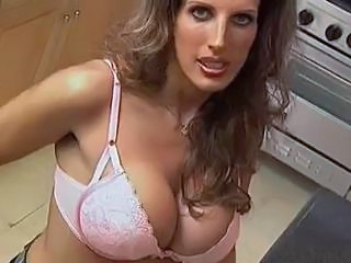 Big Tits Kitchen Mature MILF