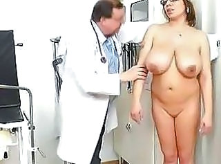 Big Tits Chubby Doctor Mature Natural Older SaggyTits