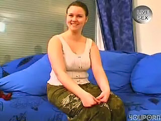 Amateur Chubby European German Teen