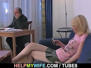 Daddy Old and Young Skirt Teen