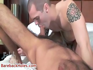 Andre gets his amazing anus rimmed