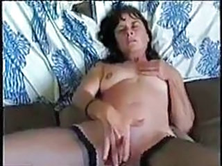 Granny Masturbating Mom Stockings