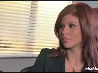 Amazing Cute MILF Office Redhead Secretary