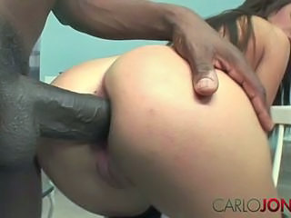 Anal Ass Big cock Car Close up Doggystyle Hardcore Interracial